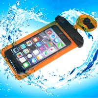 Hot selling fashion portable pvc waterproof case with lowest price