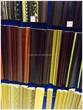 embossing wood antique picture frame moulding/wooden skirting