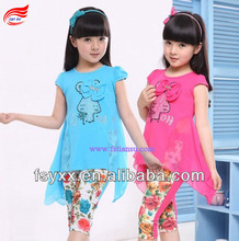 Great spring!2pcs pretty girls clothing set