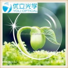 1.60 aspheric hmc emi uv400 ce/fda high quality optical lens