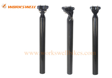 3K Glossy Matte Carbon Fiber Seatpost 30.8mm Bicycle Seatpost Carbon