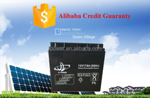 12V17ah Solar energy Sealed Rechargeable Lead-Acid Battery, More cheap, high quality.