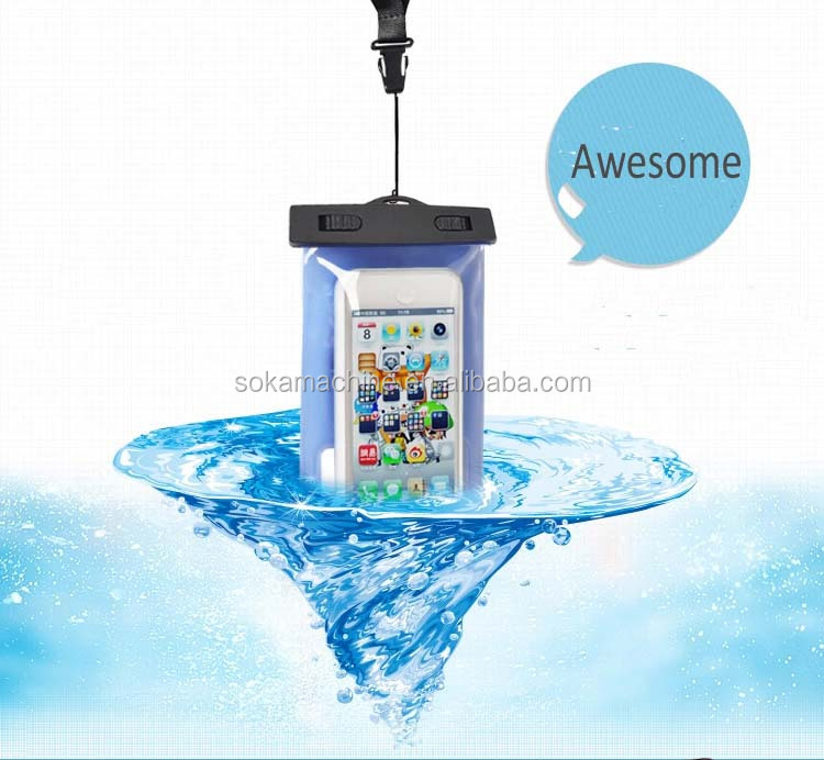 top sale dry bag for beach waterproof smart phone case
