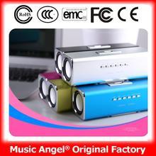 Music Angel JH-MAUK2B speaker dhl for pc station usb sound speaker for learn