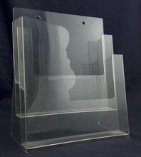 Customized wall mounted acrylic display case