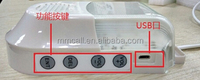 Wireless emergency call system alarming light
