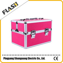 High Quality Aluminum Beauty Box for Makeup Promotion Gift Vanity Case with Lock