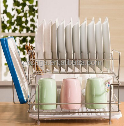 Chrome Storage Rack Chrome Plated Plate Rack
