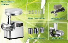 Digital switch meat grinder die casting Aluminum housing meat mincer