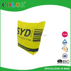 New printed custom eco silk shopping bags
