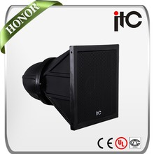 "ITC T-2600 100W 8"" and 1.3"" 2.0 IP66 Waterproof PA System Horn Loudspeaker in Fiber-glass"