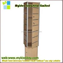 4 Way Small Slatwall Gondola White