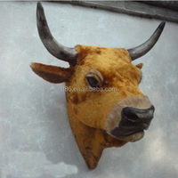 Custom Factory Price Great Quality imitated animal cow horn use