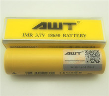 Battery prices AWT 2600mAH IMR 18650 battery AWT 18650 40A battery for electronic cigarette hidden camera toy 18650 battery