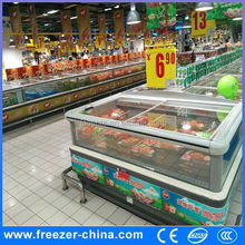 supermarket fresh food freezer, island display freezer, fish chest freezer freezer etl