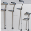 medical aluminum adjustable full cuff elbow crutch manufacture