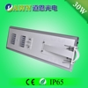 30W intelligent easy install integrated all in one solar LED street light projector led off road lids solar head led