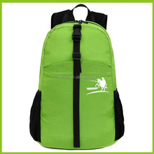 2015 nylon waterproof sports foldable backpack fold bag