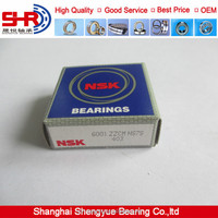 Cheap NSK Deep Groove Ball Bearing 6001ZZ with good quality