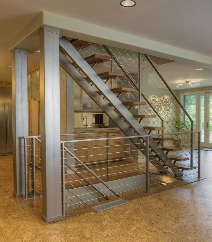 Outdoor Galvanized Steel Stair U Shaped Staircase Metal Entrance Stairs Buy