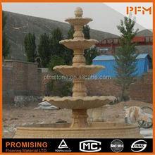 Large ornamental stone fountain dancing water fountain speaker fountain motor