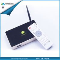 Android 4.0 wifi tv smart box RK3188 CPU 2GB +8GB 2.0MP Camera Optional, 1080P HDMI output Built-in Bluetooth
