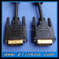 High quality DVI cable 24+1 copper gold plated connectors