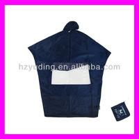 Adult Bicycle Raincoat polyester motorcycle rain poncho with hood