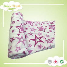 MS68 printed baby bamboo muslin swaddle blankets fabric