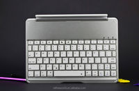 Slim Portable Wireless Bluetooth Keyboard Case Cover Aluminum Stand Protector for Ipad
