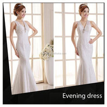 Evening Dress With Brocade