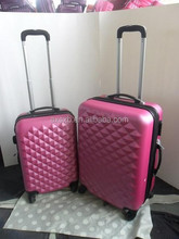 ABS+PC 3 pcs set eminent personalized trolley luggage sets unique luggage sets