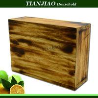 welcome custom wooden tea box chocalate box