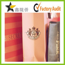 2015 Newest custom paper bag recycle paper bag different shape paper bag