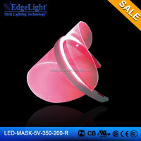 Edgelight juvenility led red light therapy mask