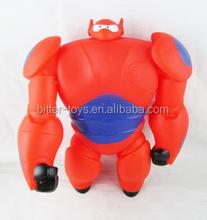 พระเอกใหญ่6baymaxของเล่นหุ่นยนต์พลาสติก, ร้อนขายของเล่นหุ่นยนต์baymax