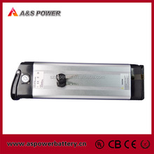 36V 10Ah lithium battery pack for electric bikes