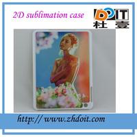 2D sublimation case with custom design for ipad mini case