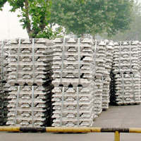 High purity virgin aluminium ingot 99.7% Aluminum Alloy Ingot