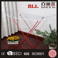 Simple design metal wire outdoor hanging clothes drying rack