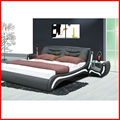 ali baba .com best selling!!! latest soft leather beds in china