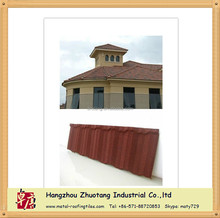 Corrossion Resistance Stone Coated Steel Roofing Tile