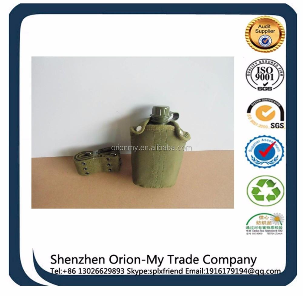 Fabricante fábrica copo de plástico logotipo personalizado militar cantil de água cantil de água