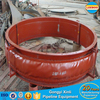 ANSI standard fabric compensator for pipe fittings
