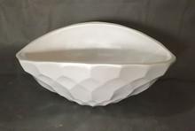 HUAWEI White and Black Shell ndoor Decoration fiber glass Vase,flower pot