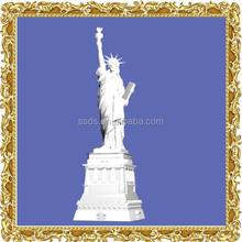 Famoso clásico inflable estatua de la libertad