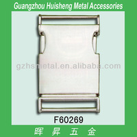 High fashion nickle free zinc alloy side release metal buckles