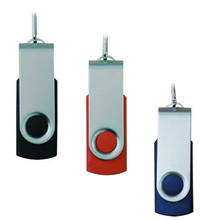 top selling colorful swivel usb flash drive with customized logo