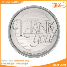 Die Casting Cut Engraved Embossed Mirror Matte Finish Custom Logo Round Coin