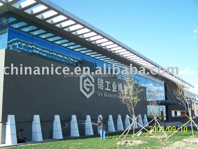 Formas especiales de terracota panel para la cortina pared